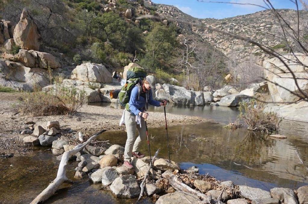 Stefanie Maio - hiking and backpacking
